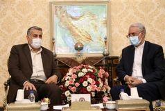 دیدار سفیر ایران در قطر با رئیس گروه دوستى پارلمانى جمهورى اسلامى ایران و قطر