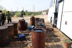 توقیف 15 دستگاه اتوبوس حامل سوخت قاچاق در بندرعباس