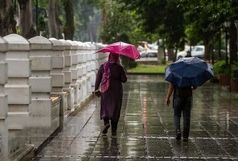 ادامه باد شدید و باران در اصفهان