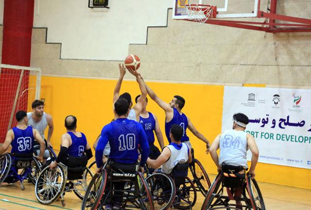 اردوی تیم ملی بسکتبال با ویلچر مردان آغاز میشود