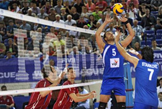 برد قاطعانه رقبای ایران در لیگ جهانی والیبال