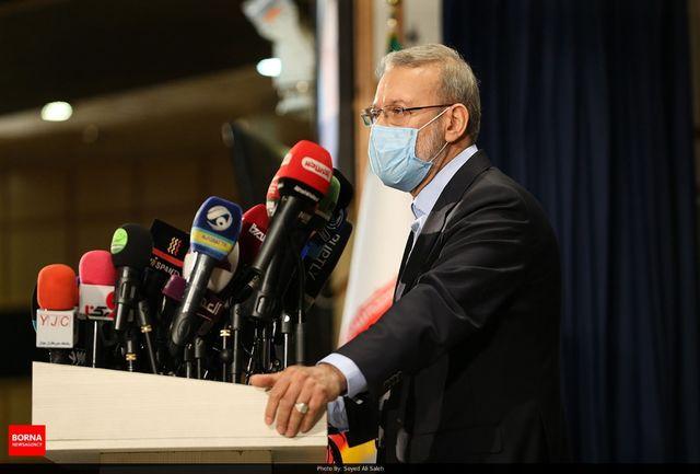 نامه علی لاریجانی خطاب به رهبری