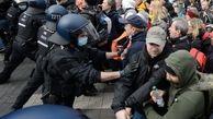 درگیری بین پلیس و مردم!/معترضان: محدودیتهای کرونایی را بردارید+جزییات