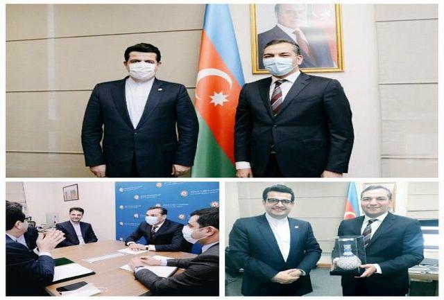 چشم انداز توسعه همکاری ایران و آذربایجان در بخش گردشگری بررسی شد