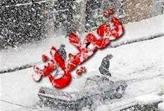 با بارش سنگین برف کلیه مدارس و دانشگاه های زنجان،  سه شنبه تعطیل شد