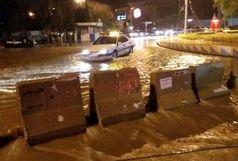 یک کشته و 15 زخمی بر اثر طوفان در مهران