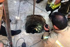 سقوط یک جوان 21 ساله در چاه