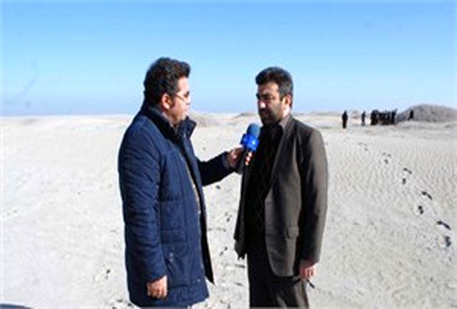 تصویب 300 میلیارد ریال اعتبار برای تثبیت شنهای روان و کانونهای ریزگرد حاشیه دریاچه ارومیه