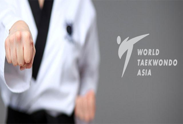 قضاوت 4 داور بینالمللی تکواندو ایران در مسابقات آنلاین قهرمانی آسیا پومسه