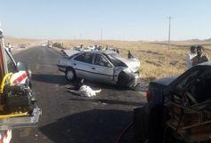 3فوتی و 2 مصدوم در حادثه رانندگی جاده آرین شهر