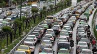 ترافیک نیمه سنگین در آزادراه تهران-کرج