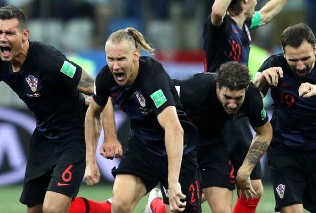 تیم هایی که در خانه فوتبال کرواسی را تماشا می کنند