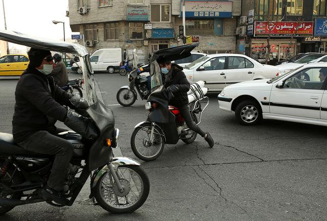 آغاز ترافیک صبحگاهی در معابر تهران