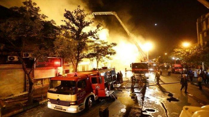 نخستین تصاویر از لحظه انفجار در تهران + فیلم
