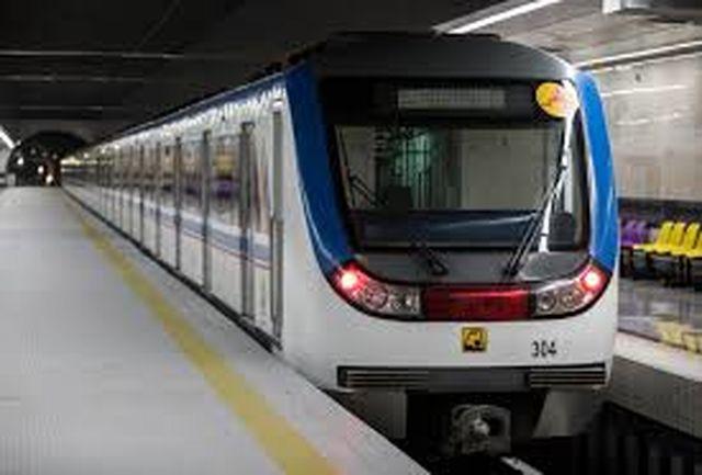 مترو کرج در ایستگاه قزوین می ایستد