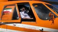 چهار فروند بالگرد اطفای حریق در اطراف پالایشگاه تهران مستقر هستند