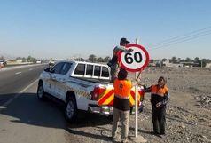 سرقت افزون بر ۲۱ هزار انواع تجهیزات ایمنی در جاده های سیستان و بلوچستان