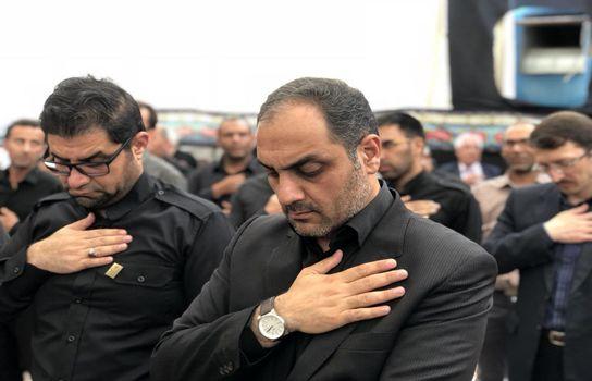 برپایی خیمه عزاداری سیدالشهدا(ع)  شرکت توسعه و نگهداری اماکن ورزشی کشور