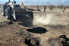 انسداد و پلمب 273 حلقه چاه غیر مجاز در سیستان و بلوچستان