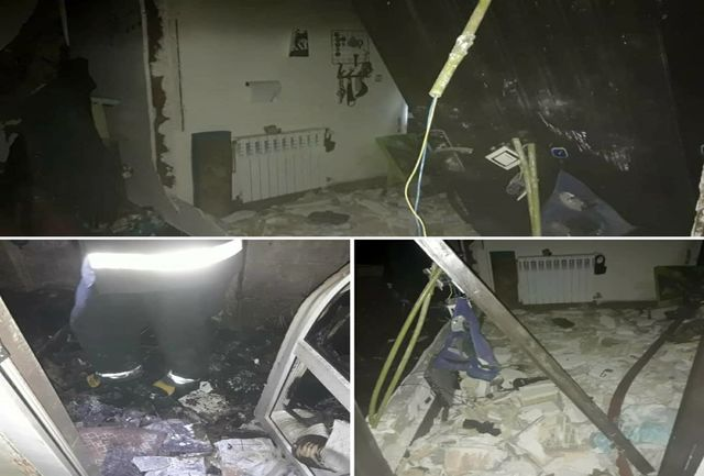 نشت و انفجار گاز ۴ شهروند را راهی بیمارستان کرد