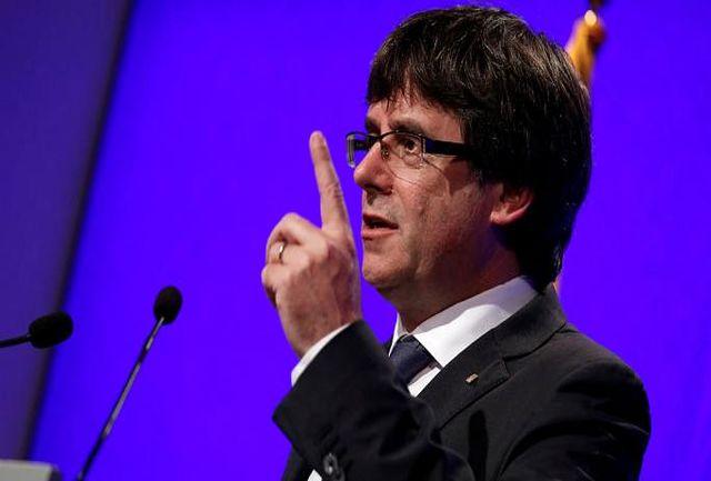 رهبر سابق کاتالونیا تسلیم مقامهای بلژیک شد