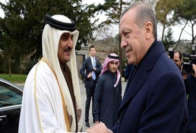امیر قطر ارزش لیر ترکیه را بالا برد