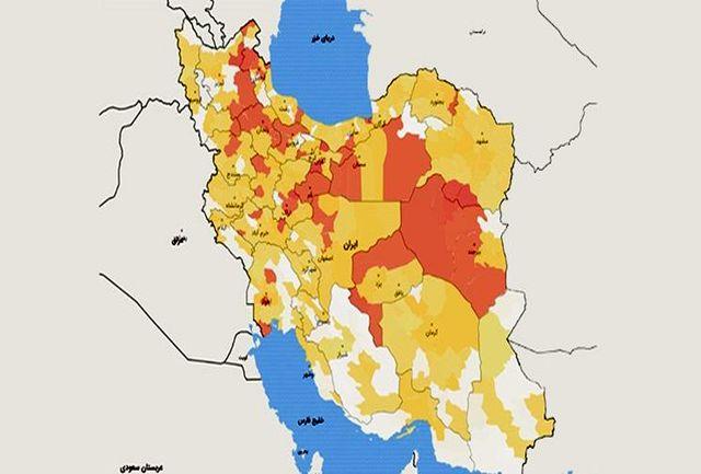 از 31 استان کشور چند استان هنوز دارای رشد صعودی در ابتلا به کرونا هستند؟