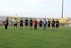 تمرین داوران فوتبال کرمان برگزار شد