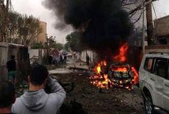 انفجار خودروی بمب گذاری شده مقابل پایگاه نظامی فرانسه در مالی