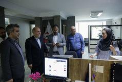 حضور معاون امور مجلس وزارت ورزشوجوانان در خبرگزاری برنا