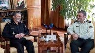 فرمانده نیروی انتظامی از ارتش قدردانی کرد