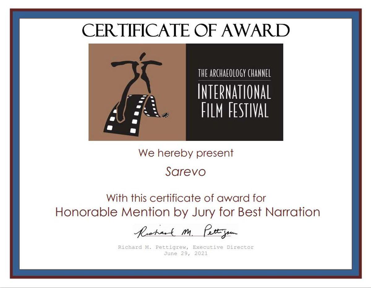 مستندساز ایرانی ۳ جایزه از جشنواره باستان شناسی آمریکا گرفت