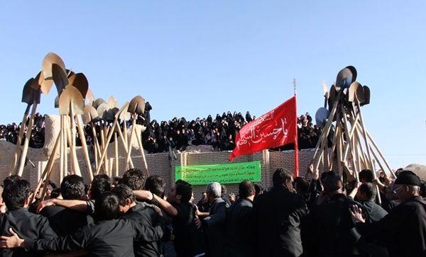 آداب و رسوم و مراسم بیلزنی روز عاشورا در خراسان جنوبی