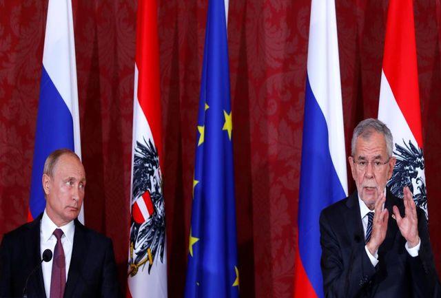 موضع تند رییس جمهور اتریش علیه تحریم های ضد ایرانی