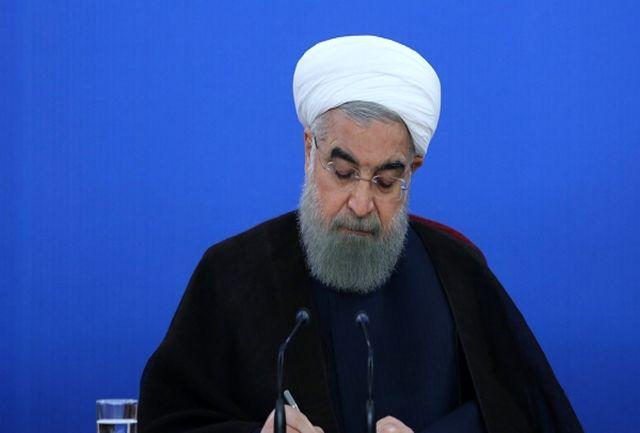 دکتر روحانی درگذشت پدر بزرگوار شهیدان چراغی را تسلیت گفت