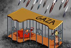 گذرگاه های غزه مسدود شد