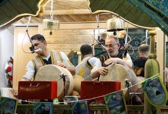 مراسم جشن میلاد امام زمان (ع) در لاهیجان