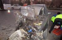 ۵ مصدوم در تصادف دو دستگاه خودرو در جعفرآباد فولادلو