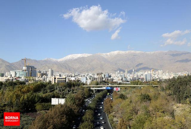 کیفیت مطلوب هوای پایتخت