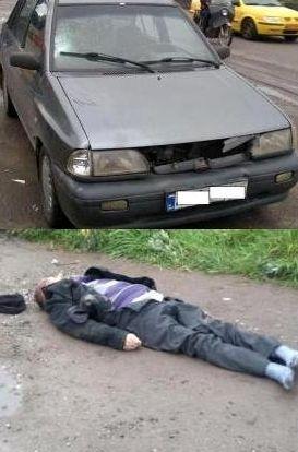 فوت عابر بیخانمان در حادثه رانندگی