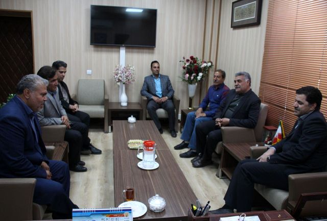 دیدار شهردار، رئیس و اعضای شورای شهر بافت با شهردار کرمان