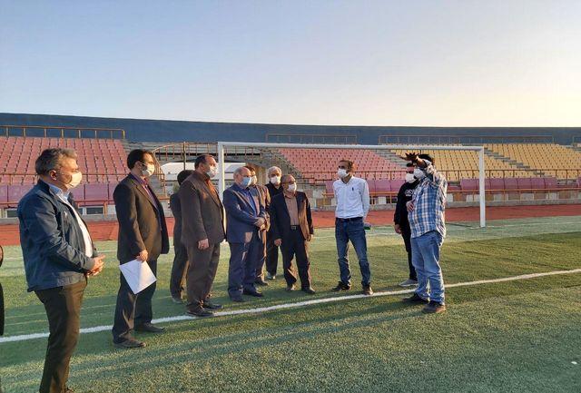 تاکید معاون وزیر ورزش و جوانان بر تکمیل ورزشگاه شهیدباکری ارومیه