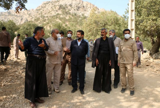 تسریع در احداث جاده سخت گذر روستای احمد فداله/خواسته مردم منطقه به حق است