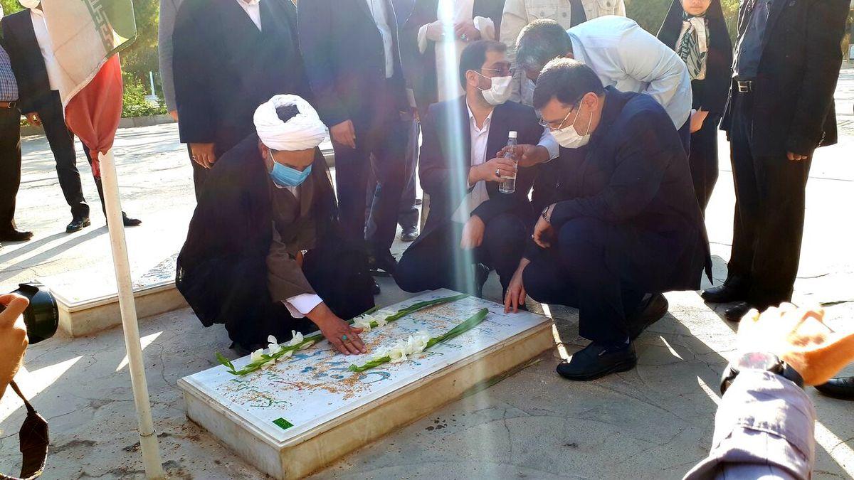 رییس جدید بنیاد شهید به مشهد سفر کرد
