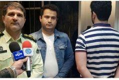 سارق ۲۸ ساله طلا فروشی گلسار رشت دستگیر شد