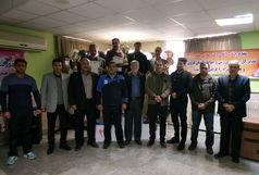 سکوهای قهرمانی صحرانوردی کشور زیر پای دوندگان همدانی