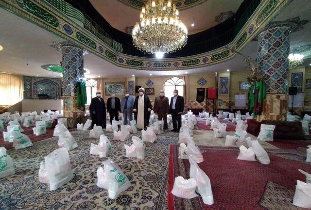 توزیع ۱۵۰۰ بسته  کمک معیشتی در رودبار قصران