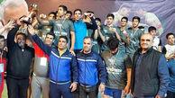 تیمهای باقرشهر و شهرری به عنوان قهرمانی دست یافتند