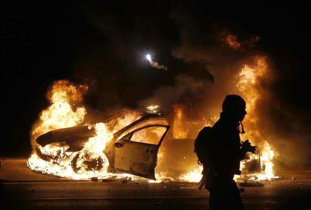 وقوع دو آتش سوزی در بغداد