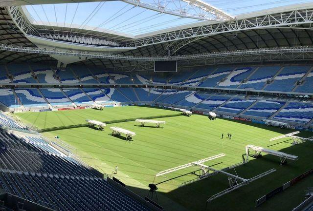 افتتاحیه استادیوم فینال آسیا در شب هتتریک قهرمانی پرسپولیس